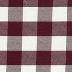 Checkerboard II  Burgundy