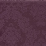 Evelyn Damask  Aubergine