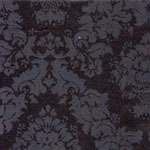 Evelyn Damask  Black