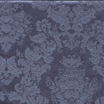 Evelyn Damask  Federal Blue