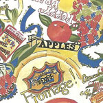 Prints  Apples and Cheese