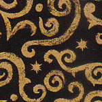 Prints  Arabesque Black