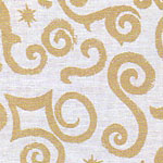 Prints  Arabesque White