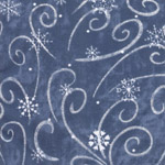 Seasonal  Swirling Snowflakes